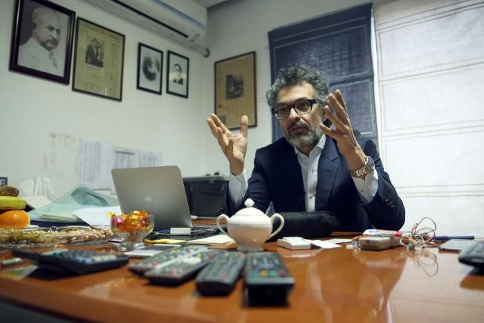 Saad Mohseni, chairman and chief executiveof Moby Group