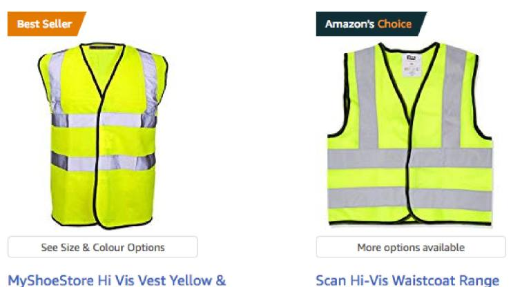 Introducing the yellow-vest indicator