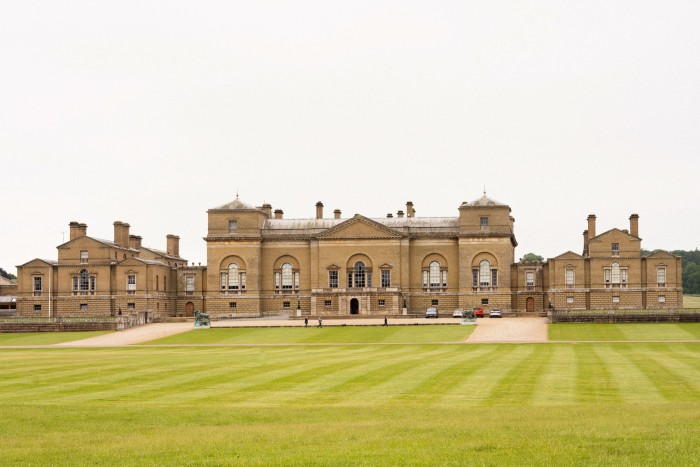 The north front of Holkham Hall, Norfolk
