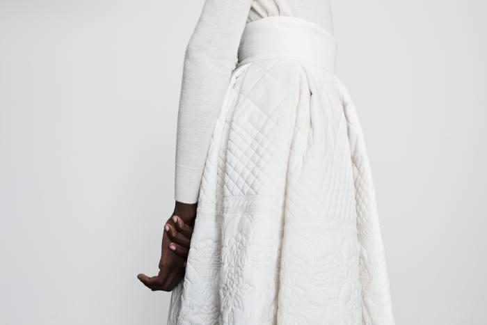 Varana khadi Quilted Victoria skirt, £3,850