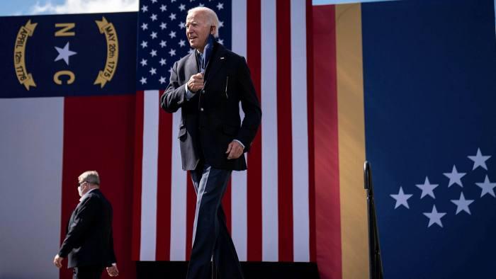 How Joe Biden Is Spending His Huge Fundraising Haul Financial Times