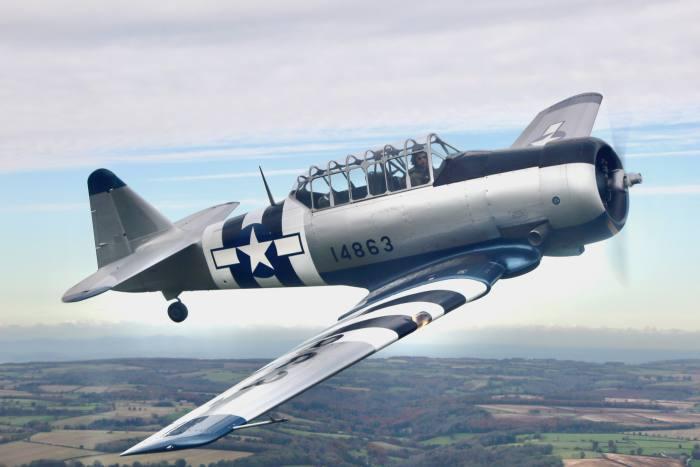 Mark Levy's T-6 Harvard, built in 1942