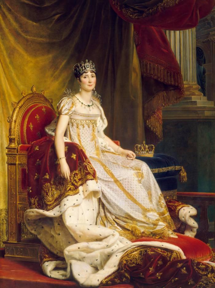 Empress Joséphine, 1807, by Baron François Gérard, from the Château de Fontainebleau collection