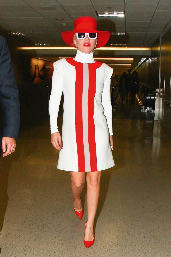 Lady Gaga at LAX, October 2015