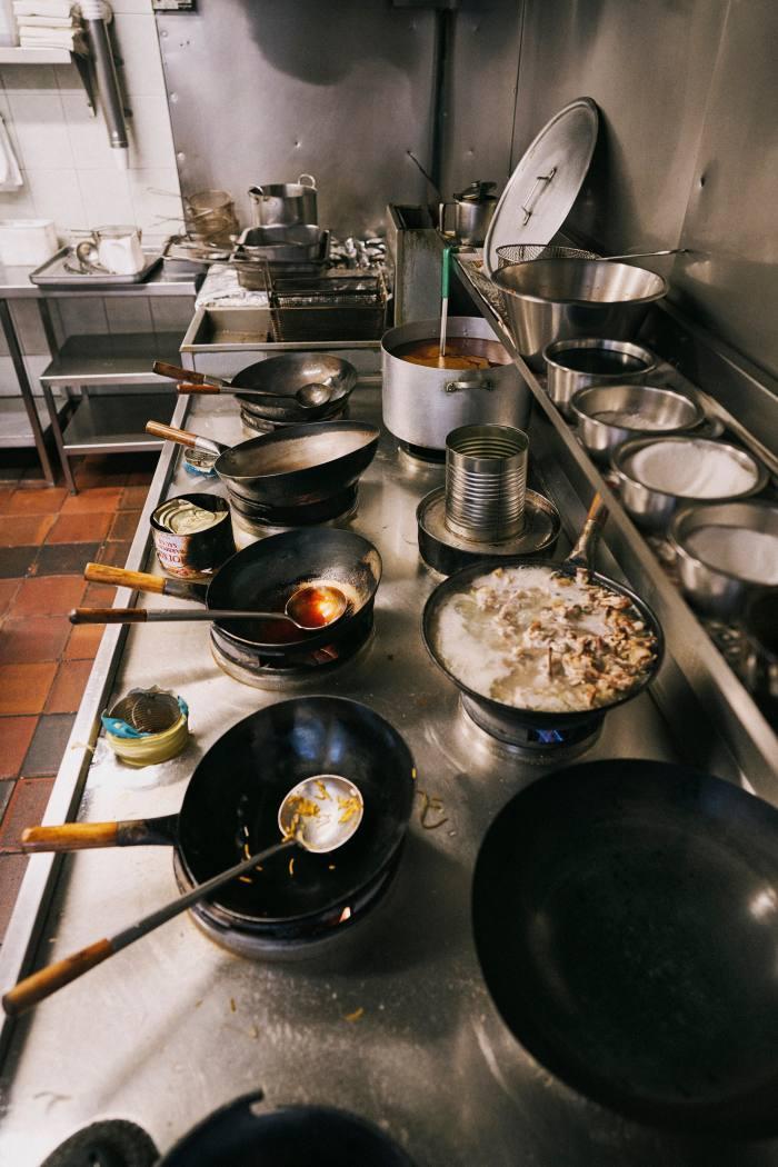 The New World kitchen