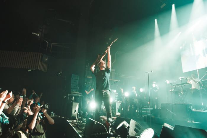 Bryce Dessner plays with The National at SFSH in 2017