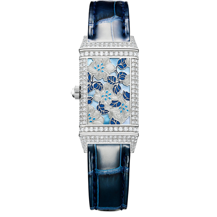 Jaeger-LeCoultre white-gold and diamond Reverso One Precious Flowers, €100,000