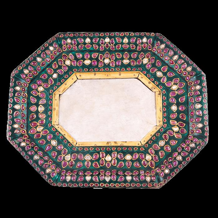 18th-century Mughal tray