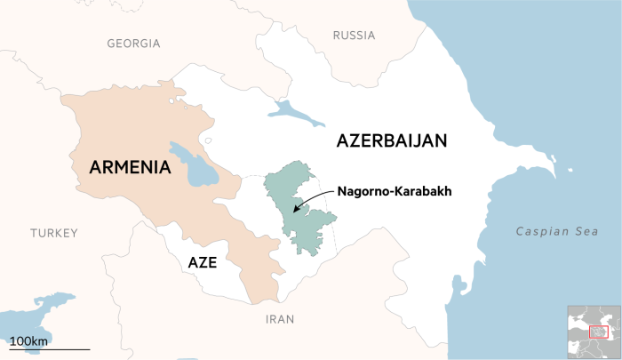 Nagorno Karabakh Conflict Reignites With Worst Clashes In Decades Financial Times
