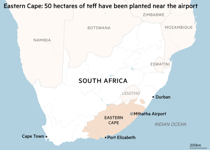 Special Report: South Africa Map
