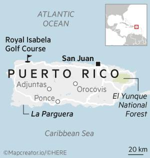 House & Home - Puerto Rico map