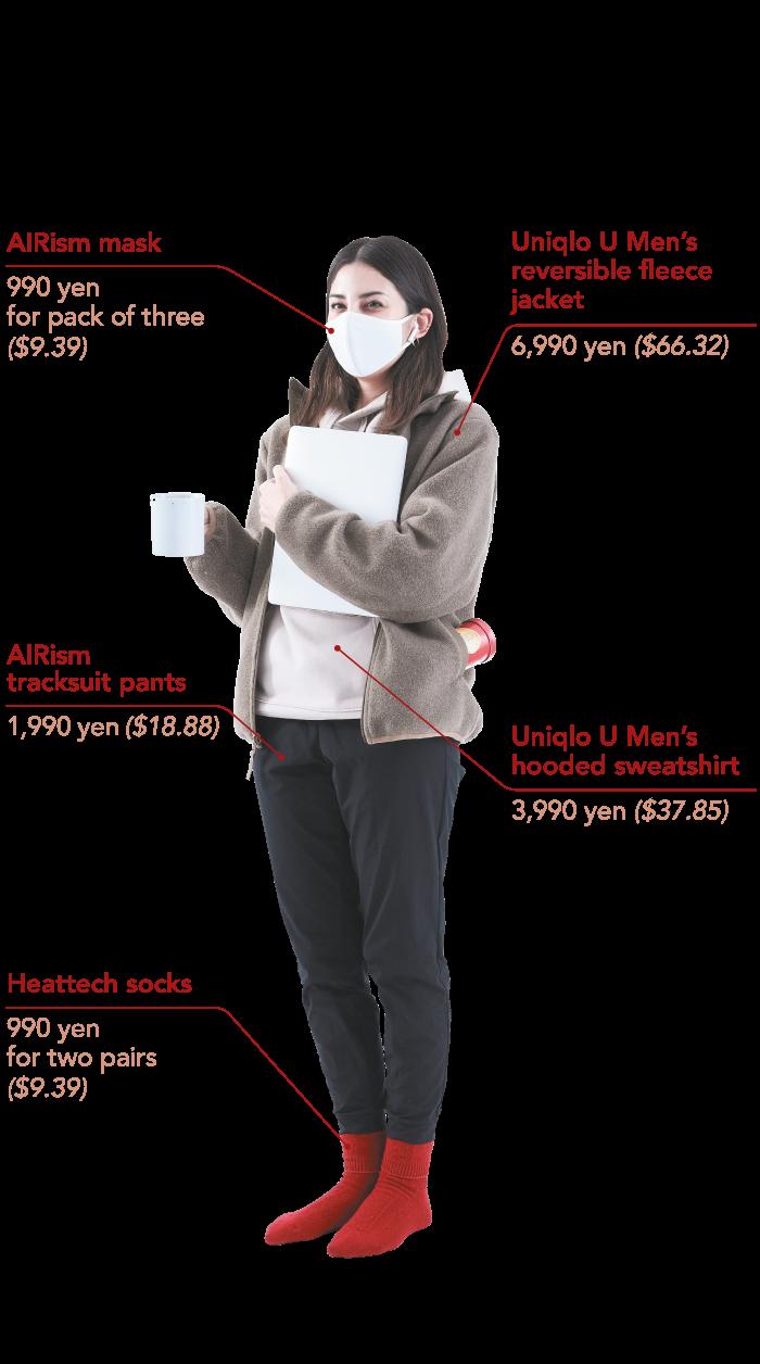 Nikkei Asia chart: Quarantine wear