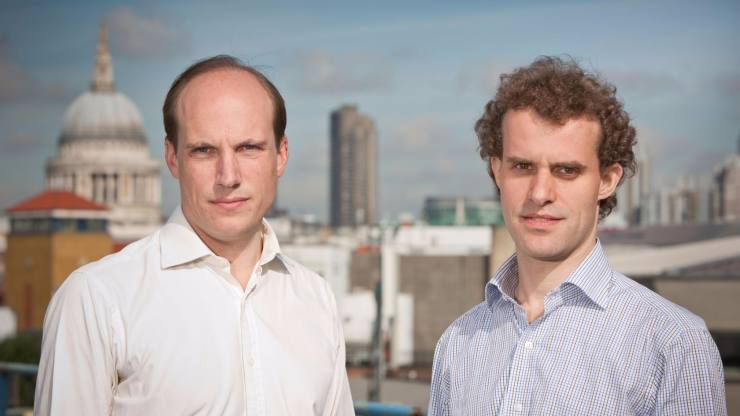 Ratesetter founders Rhydian Lewis and Peter Behrens