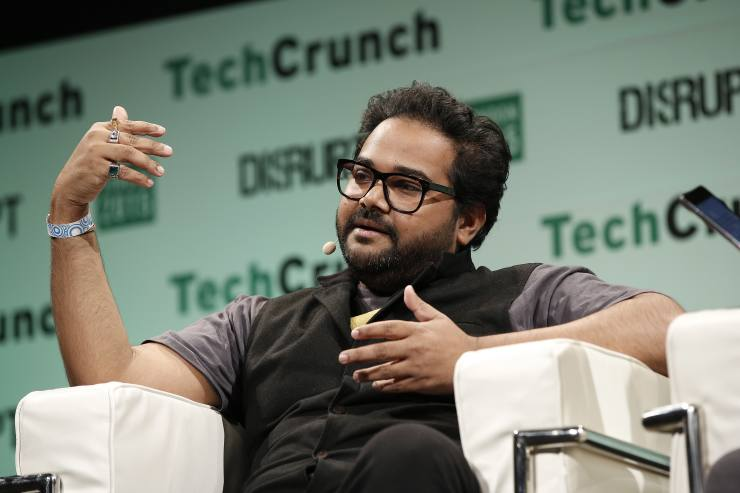 LONDON, ENGLAND - DECEMBER 08:  Co-founder and CEO at Blippar Ambarish Mitra during TechCrunch Disrupt London 2015 - Day 2 at Copper Box Arena on December 8, 2015 in London, England.  (Photo by John Phillips/Getty Images for TechCrunch)