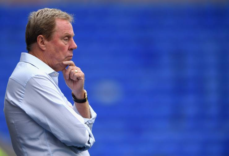 BIRMINGHAM, ENGLAND - JULY 29:  Birmingham City manager Harry Redknapp looks on during the Pre Season Friendly match between Birmingham City and Swansea City at St Andrews (stadium) on July 29, 2017 in Birmingham, England.  (Photo by Stu Forster/Getty Images)