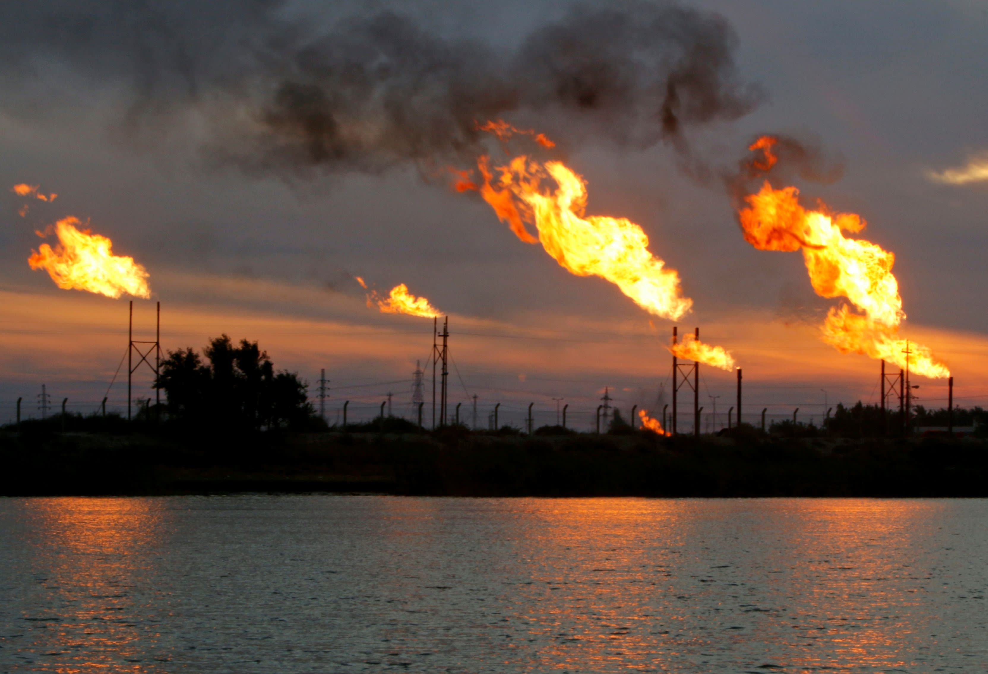 Image result for iraq oil fields