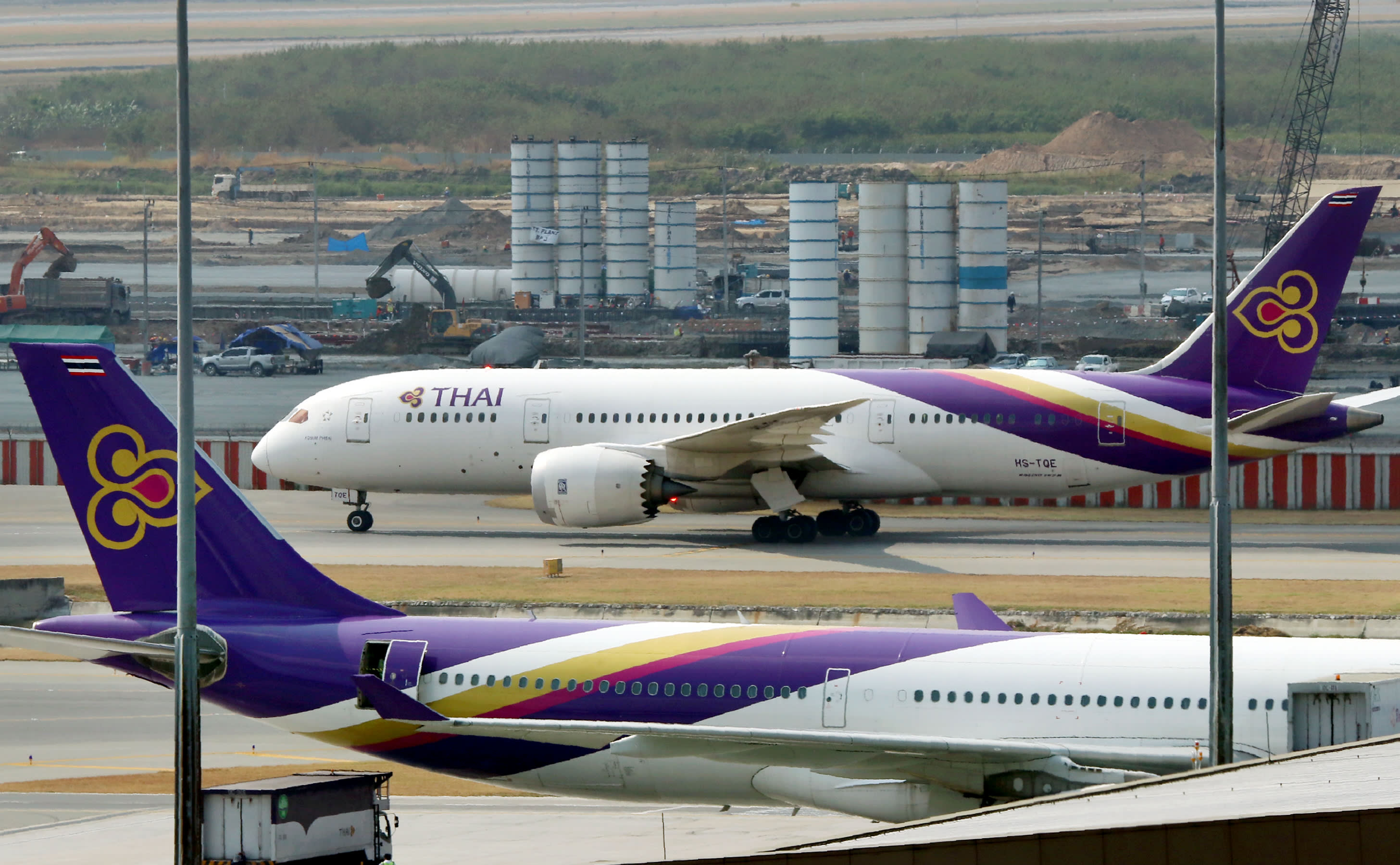 Thai Airways barely in the black; sees tough going ahead ...