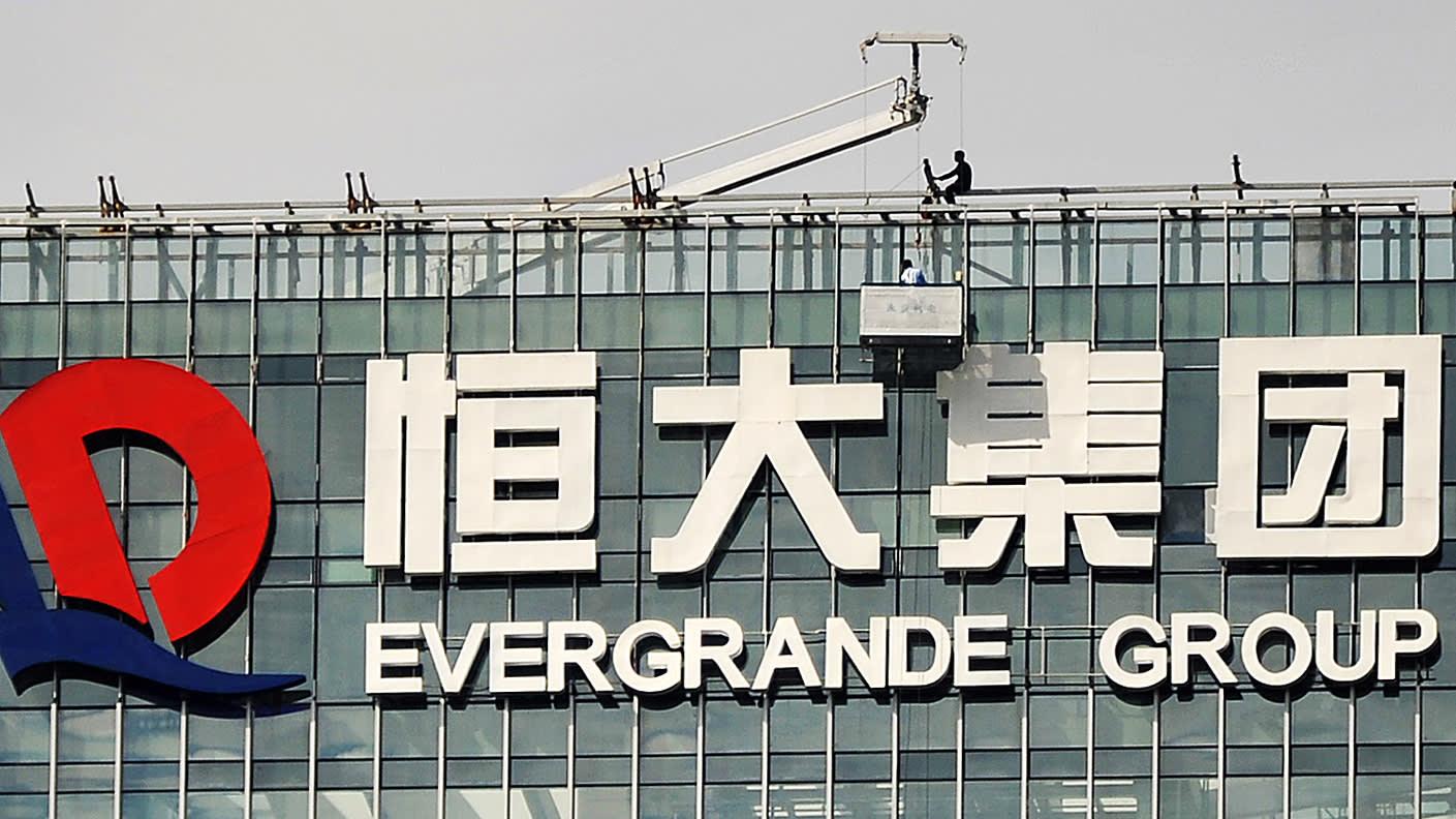 Chinese developer Evergrande tightens belt after a decade of