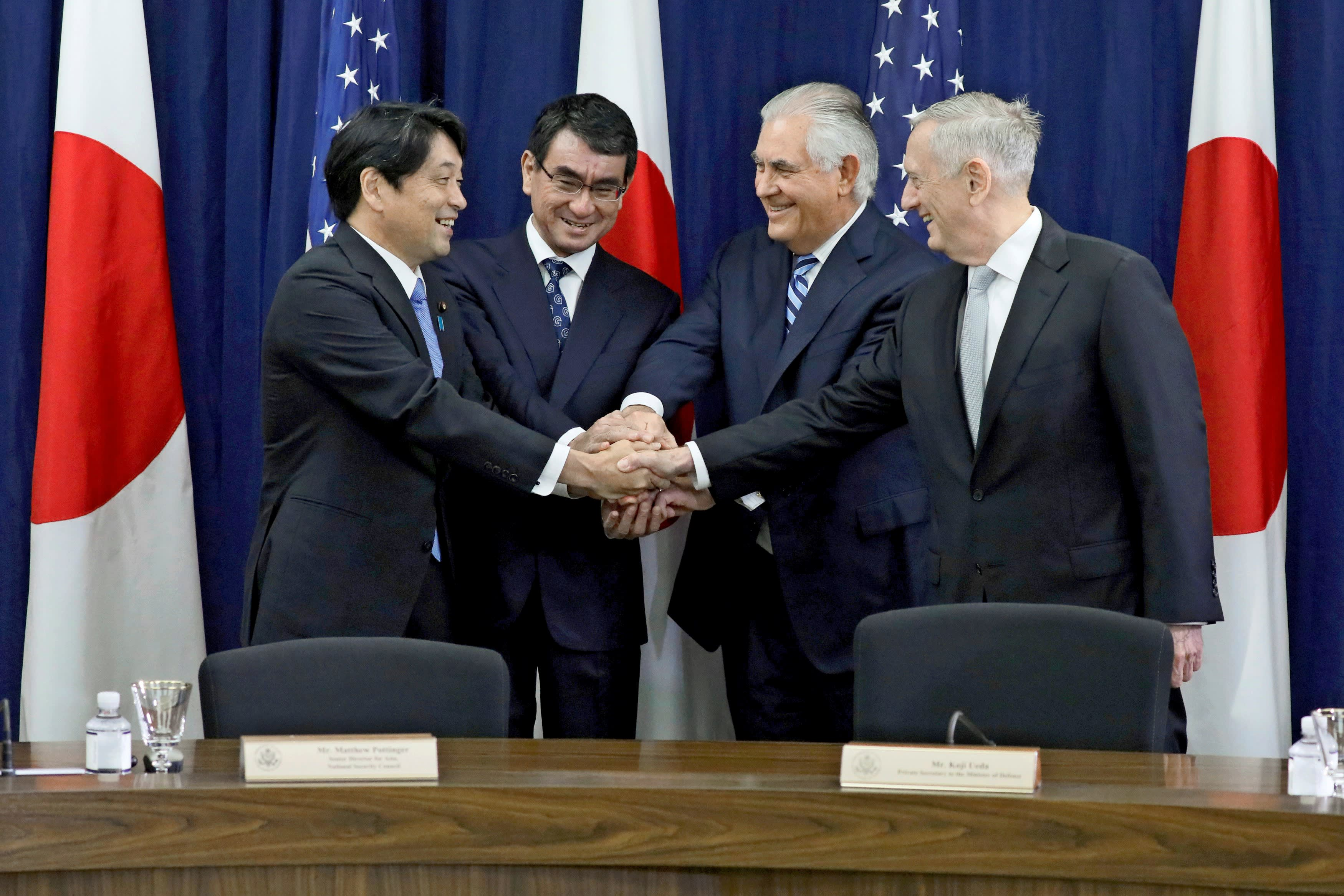Japan confirms US backing on North Korea, yet fears being