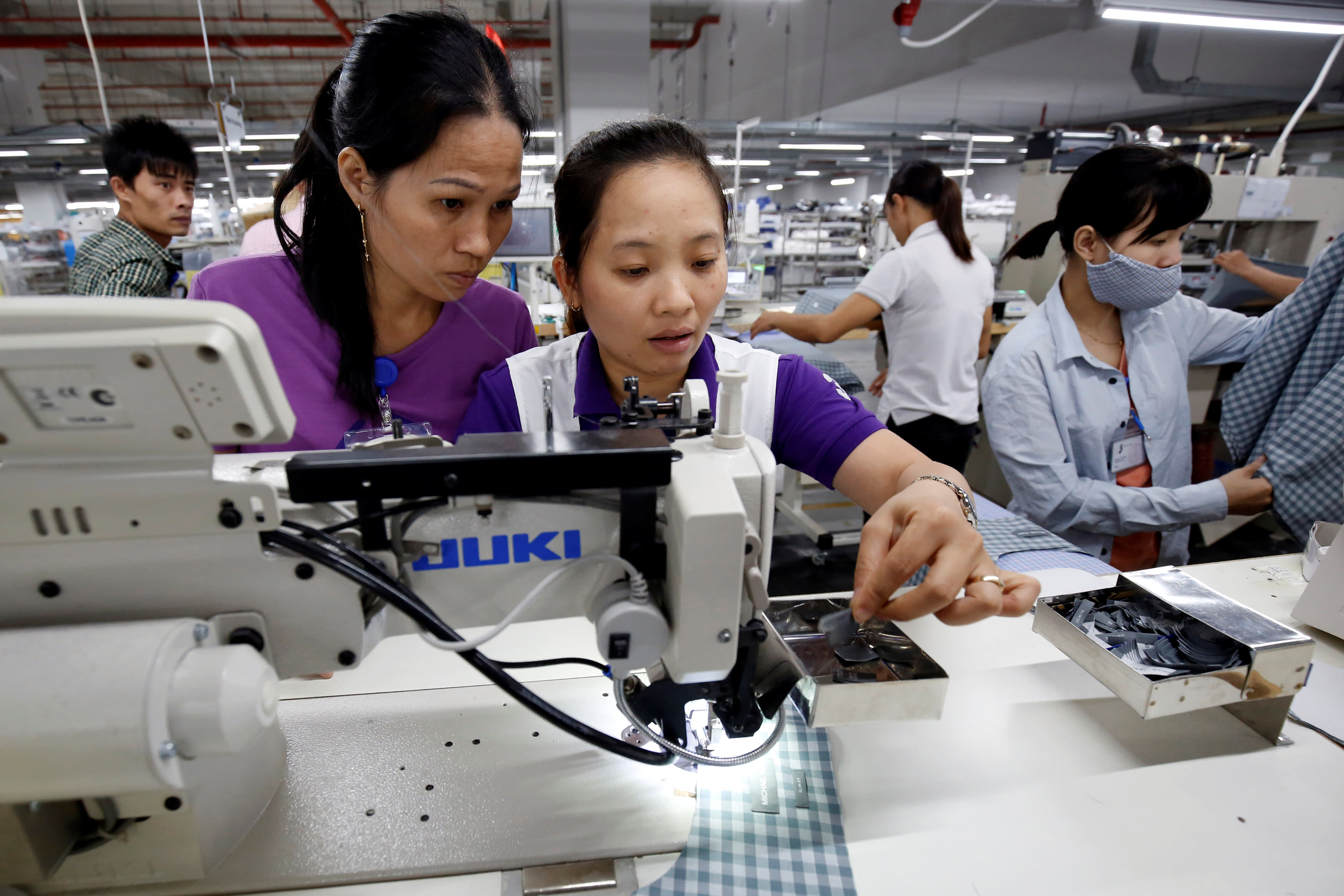 Asian manufacturing expands in April but wage pressures grow