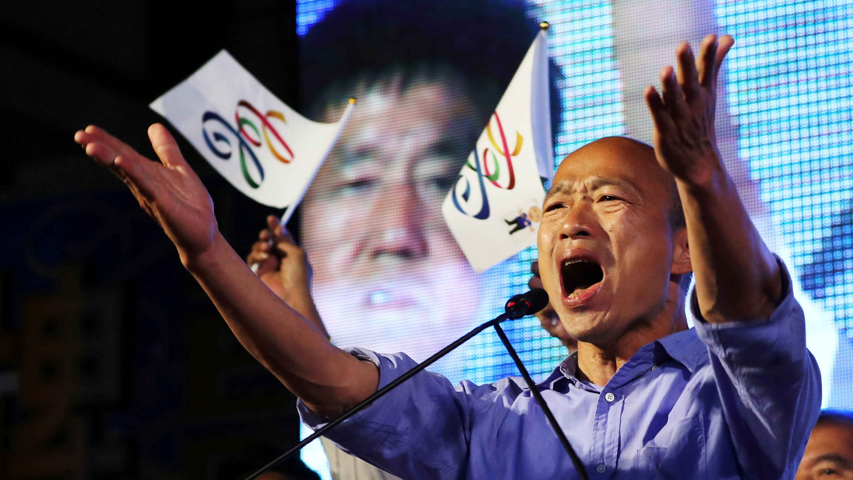 Taiwan's new 'CEO mayor' plays up economic goals over China