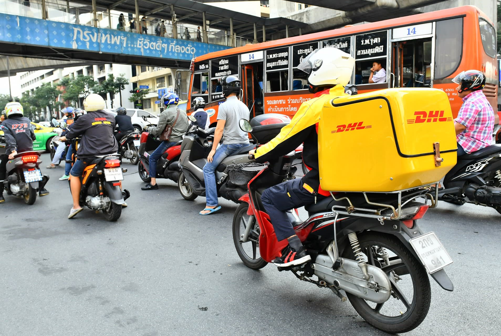 DHL has quickly built up its presence in Thailand. | Nikkei Asian Review