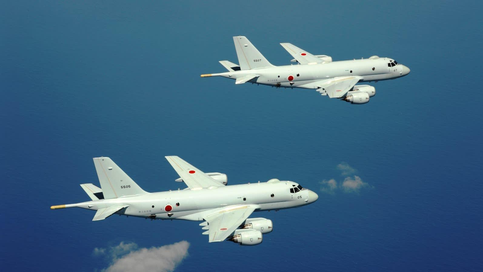 Новый японский базовый патрульный (противолодочный) самолет Р-1