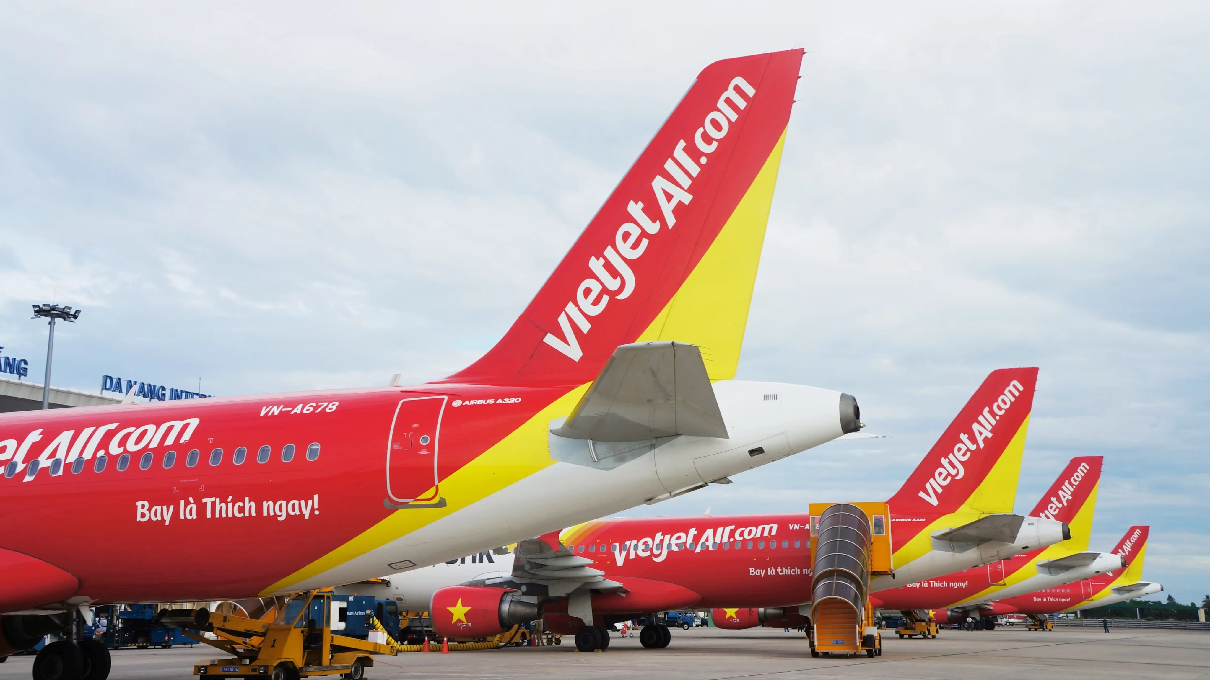 Budget airline Vietjet's fleet includes 60 Airbus A320 and A321 craft. Image: Nikkei Asian Review