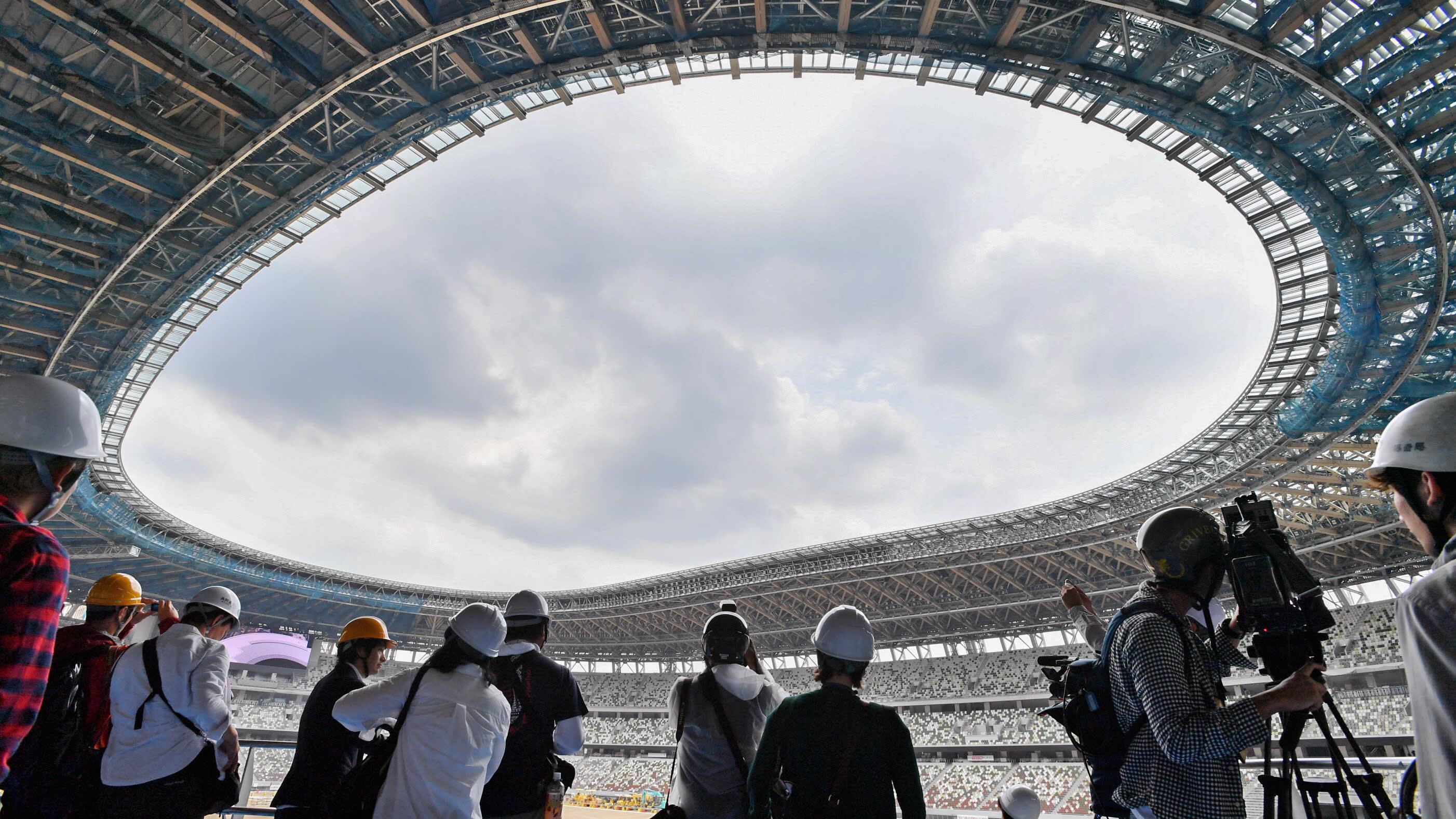 New Beat 2020 Tokyo 2020 'wooden' stadium ready to beat summer heat   Nikkei