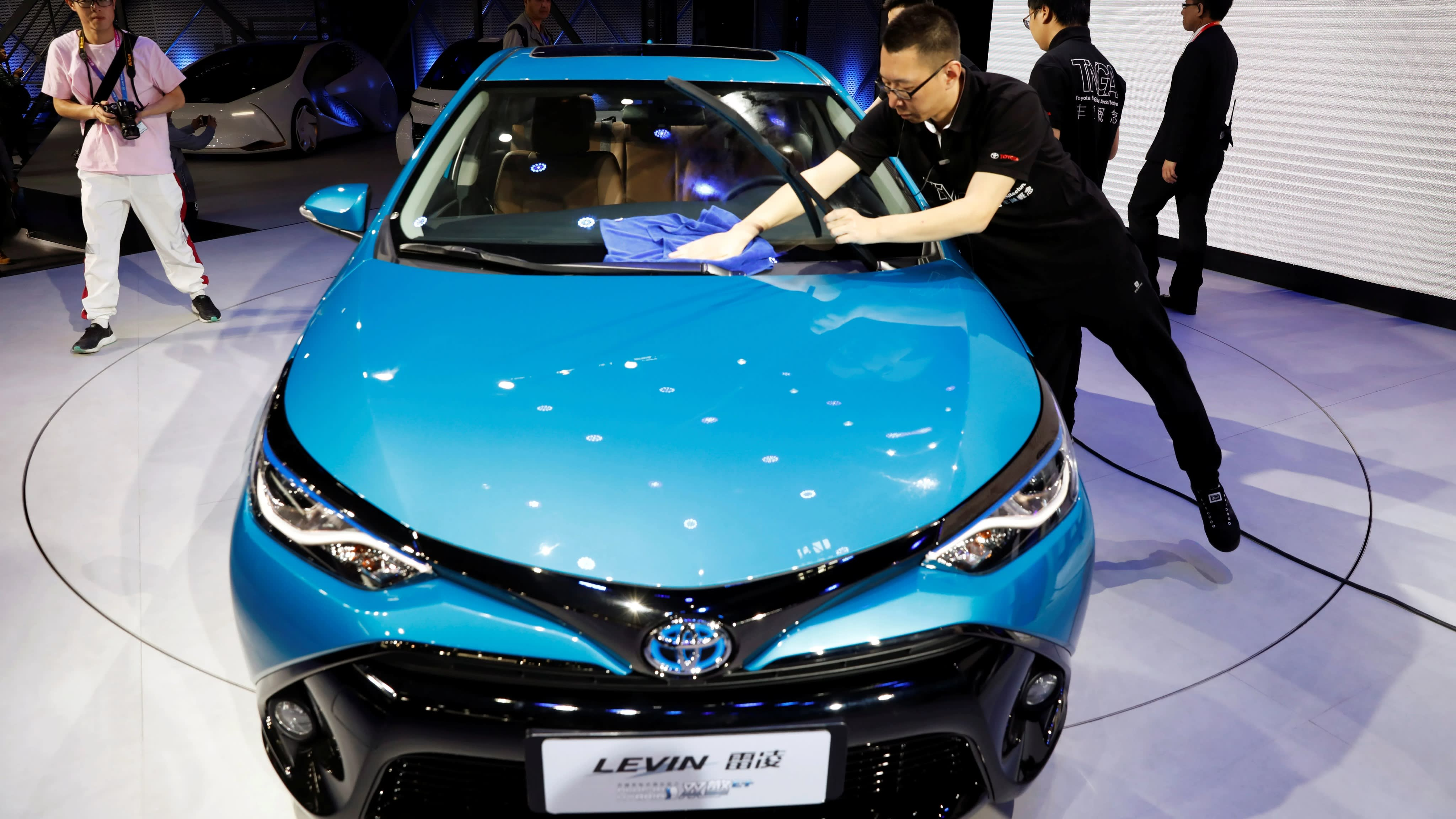 Toyota Gears Up To Produce 400 000 Green Vehicles In China Nikkei