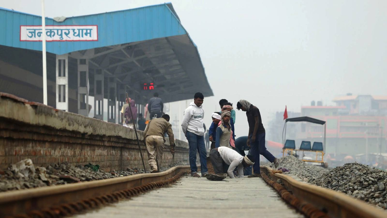 Nepal's extant rail link with India will be one of few parts of the network to use its southern neighbor's favored broad gauge. (Photo by Yuji Kuronuma)