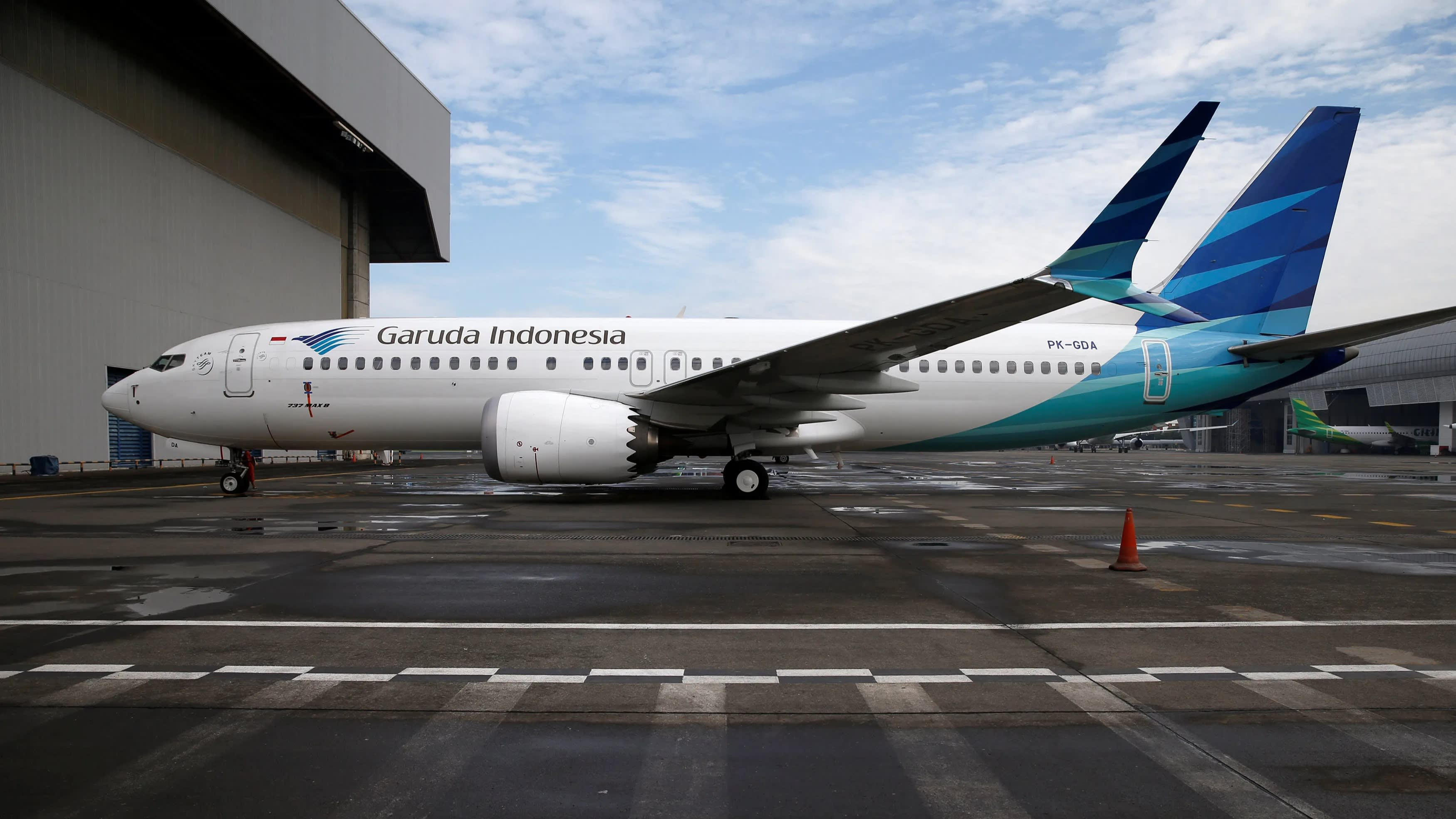 Garuda to switch 737 Max orders to other Boeing planes - Nikkei