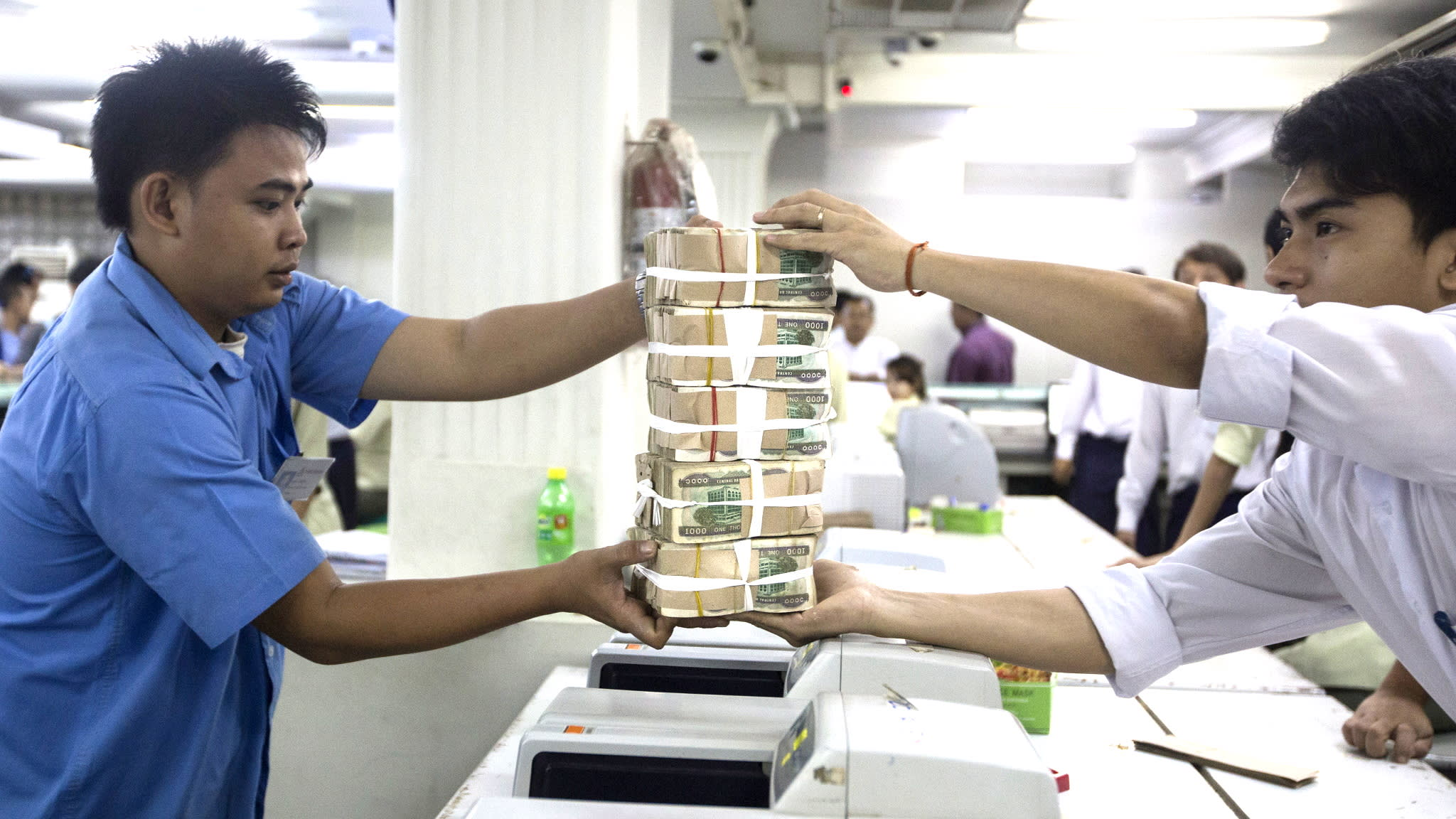 Myanmar is letting foreign interests invest in domestic banks with the aim of boosting capital for lending.