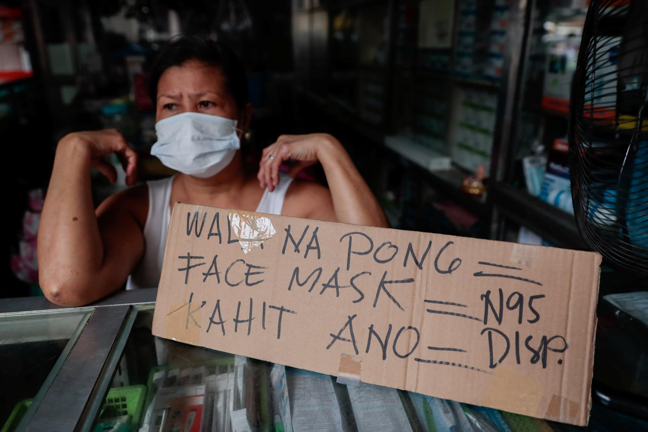 coronavirus test in philippines