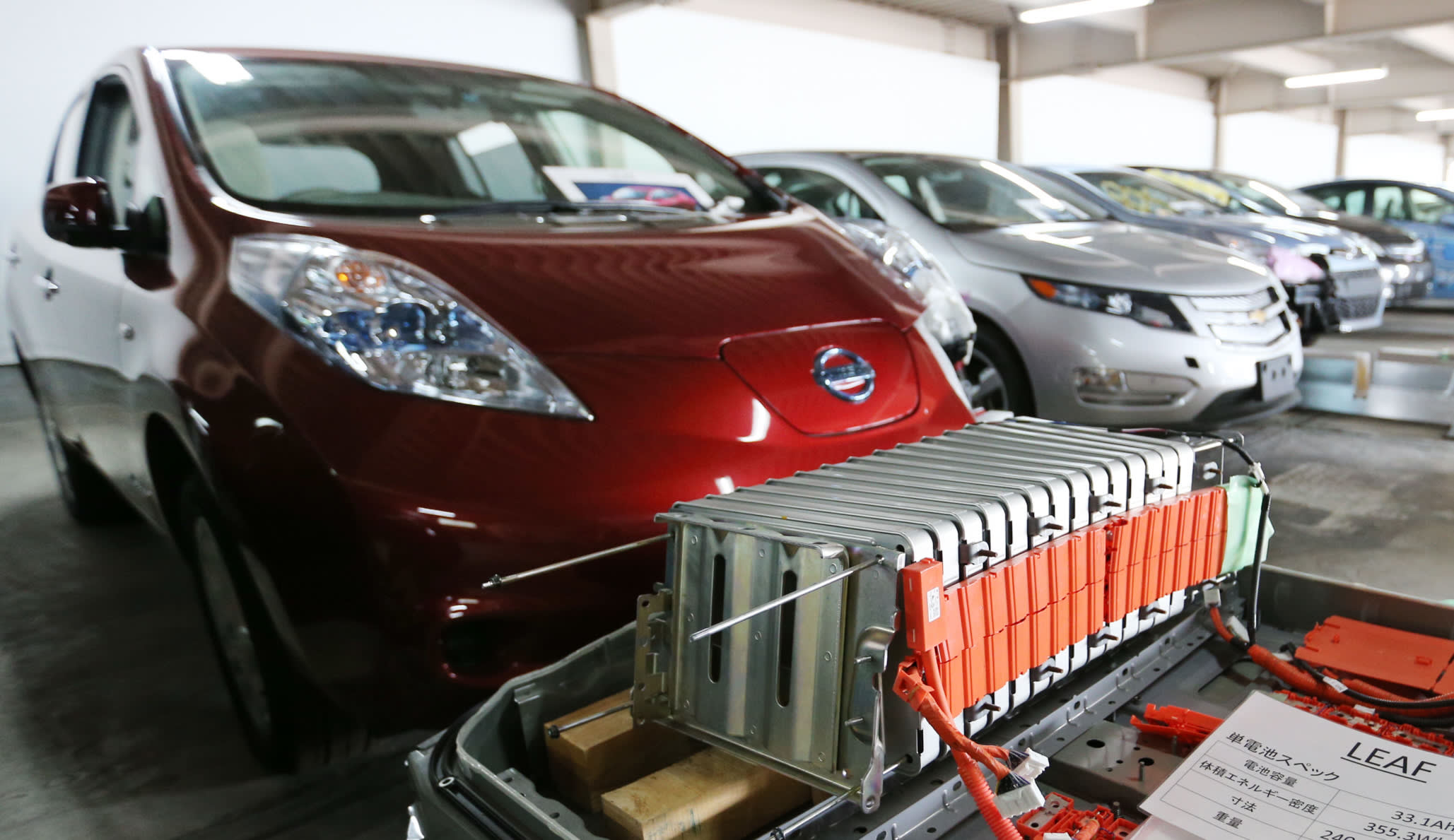Nissan Leaf Battery >> Nissan Bucks The Tide In Electric Car Age