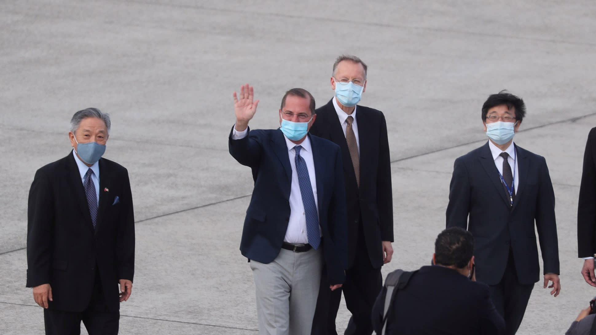 Us Health Chief Lands In Taiwan On Highest Level Trip Since 1979 Nikkei Asia