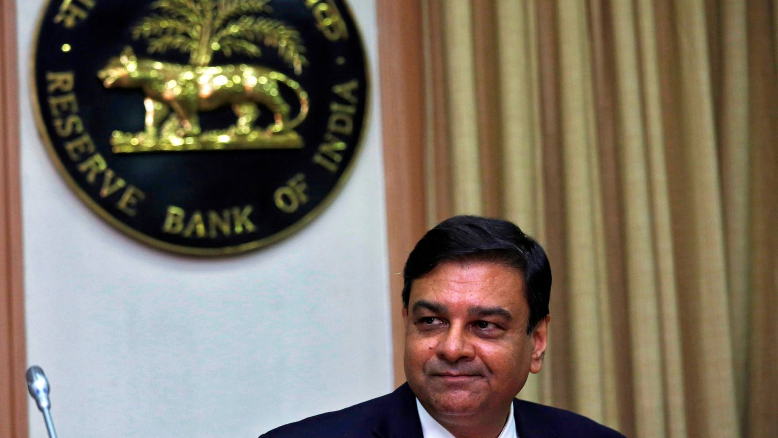 Urjit Patel, governor of the Reserve Bank of India, speaks to reporters after a monetary policy review in Mumbai on Aug.1.