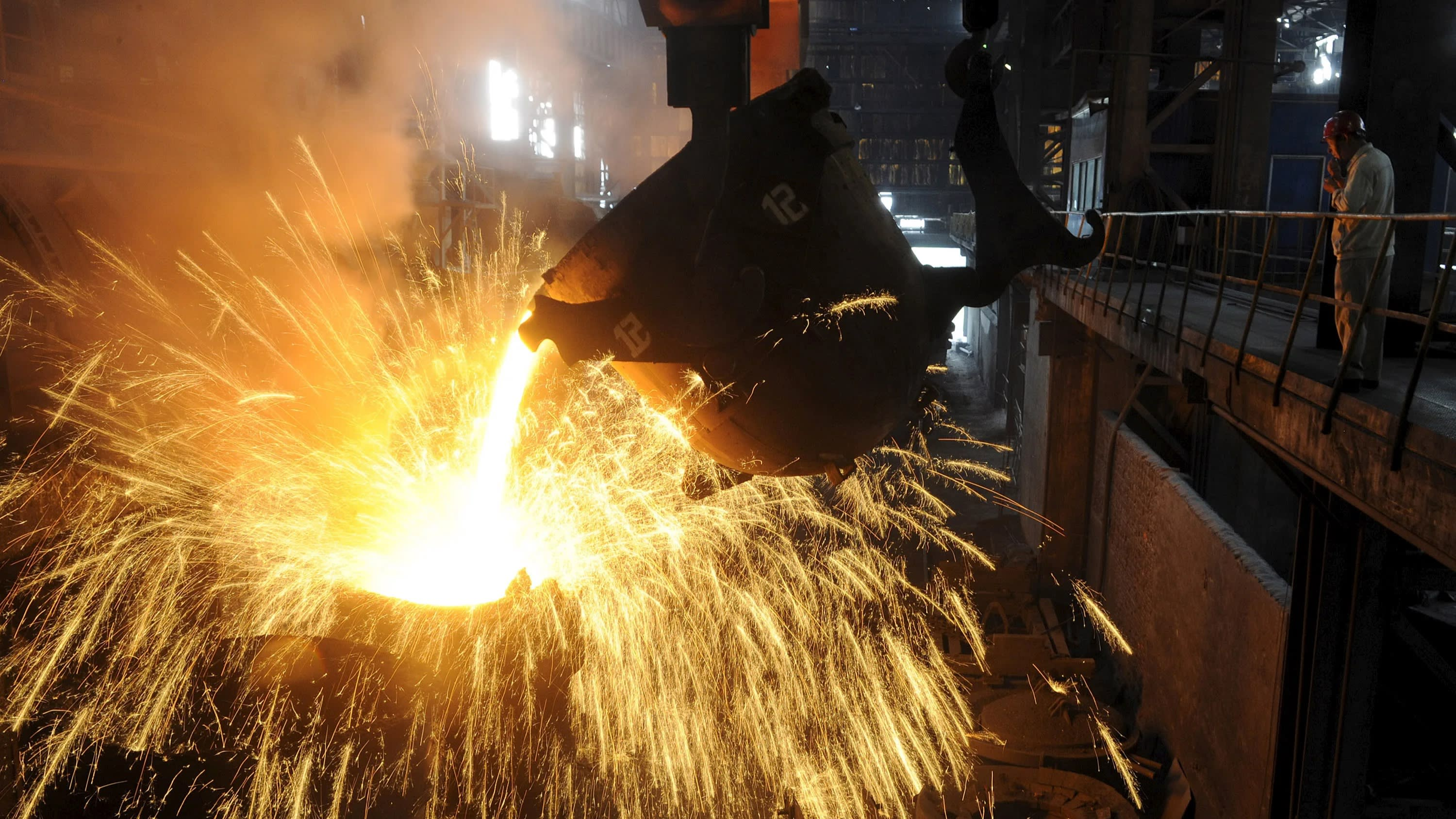Asia's steel and plastic prices slump as trade war takes toll
