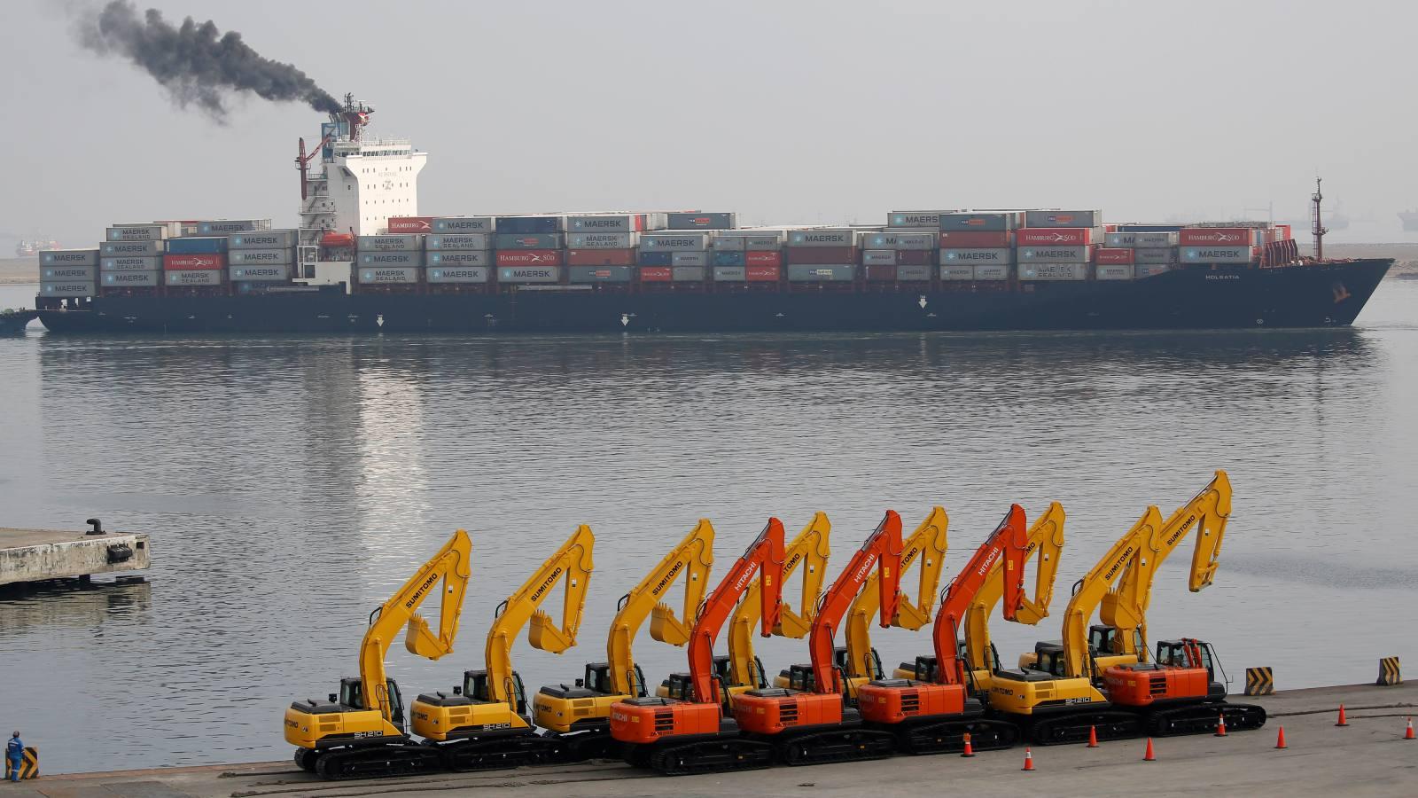 Jakarta port