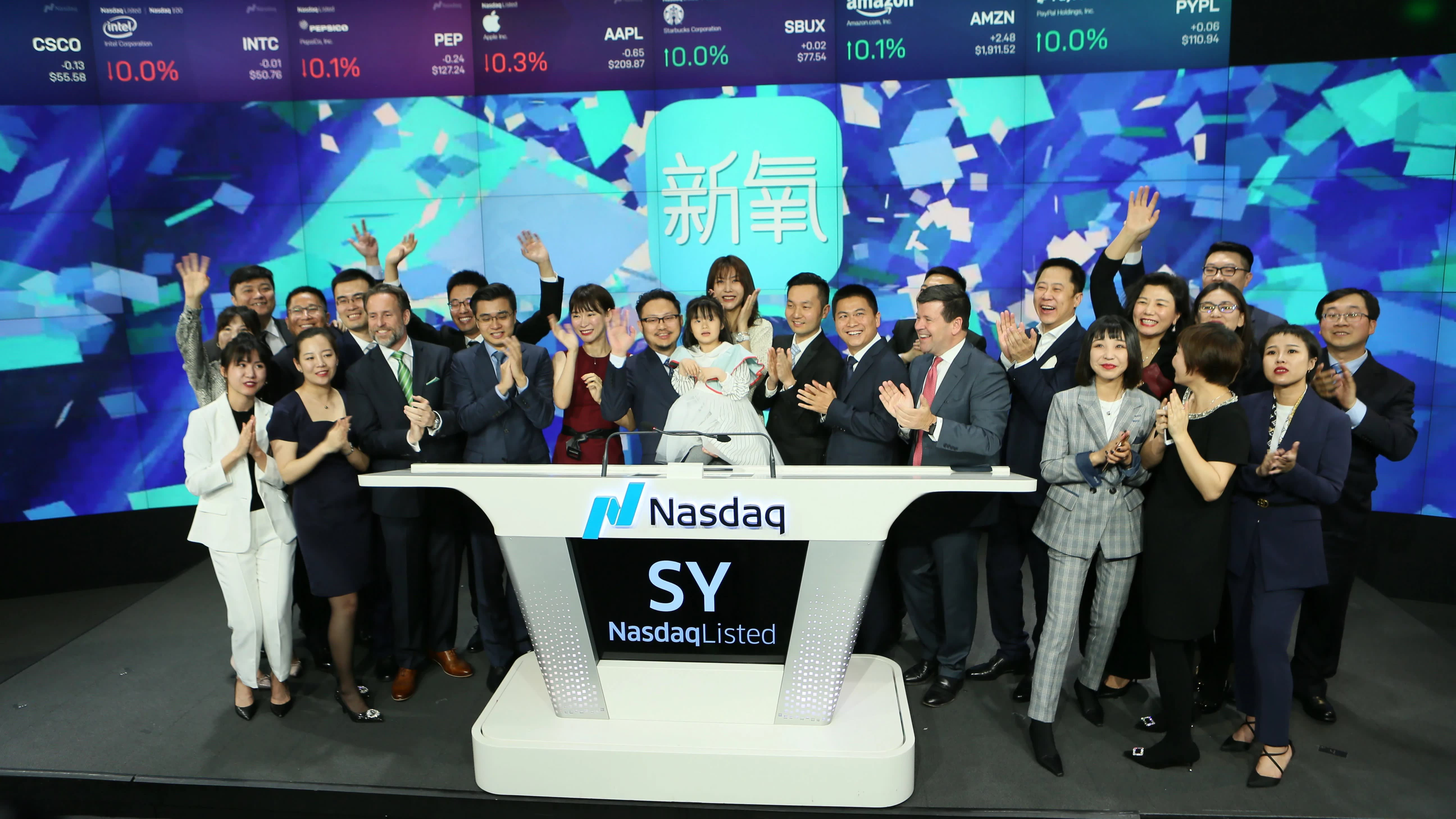 Chinese cosmetic surgery app has pretty debut on Nasdaq - Nikkei