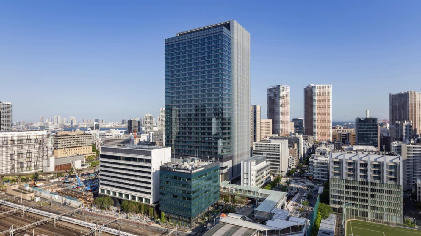 Japan Tamachi Station