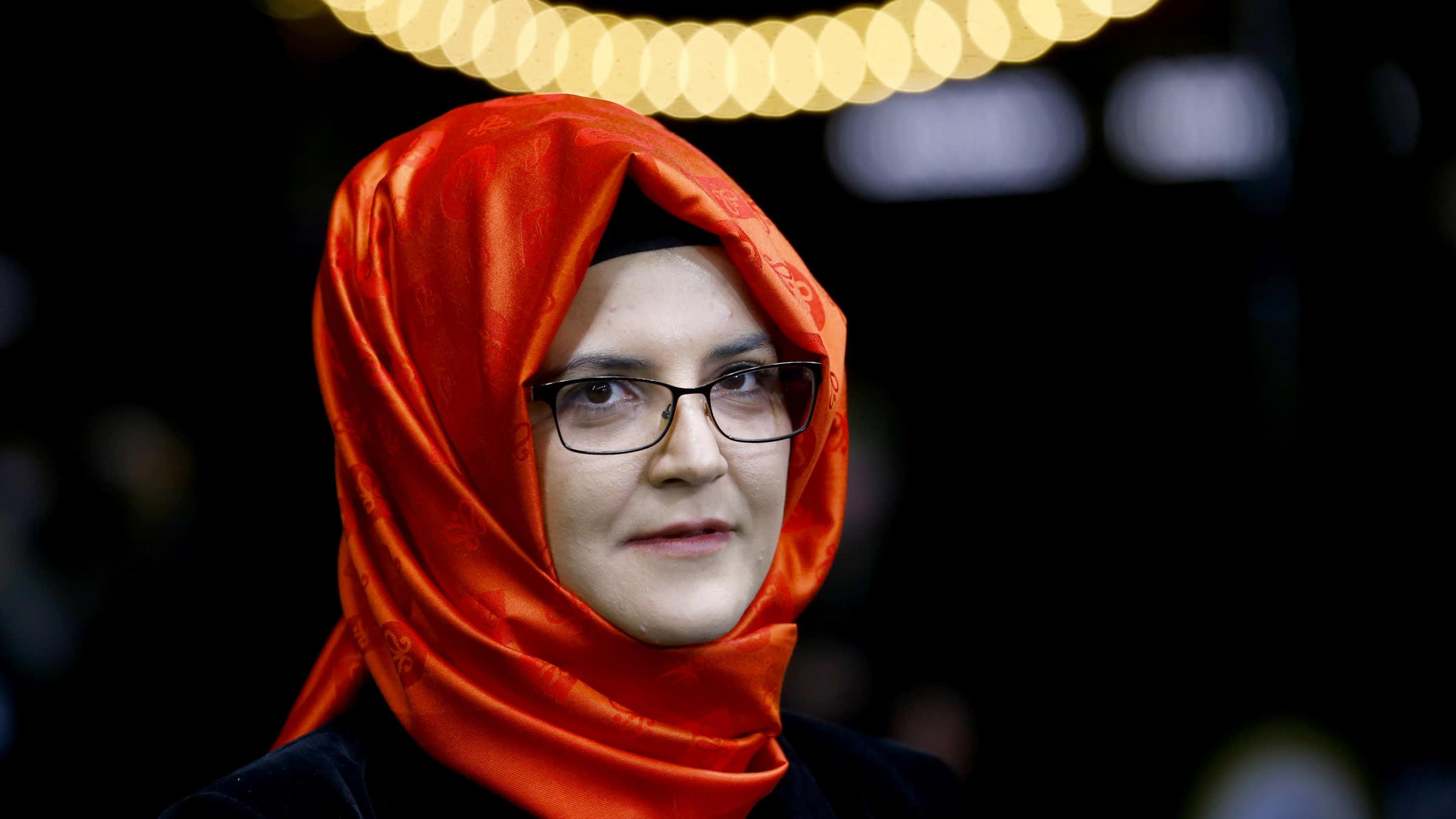 Jamal Khashoggi's fiancee sues Saudi crown prince in US court - Nikkei Asia