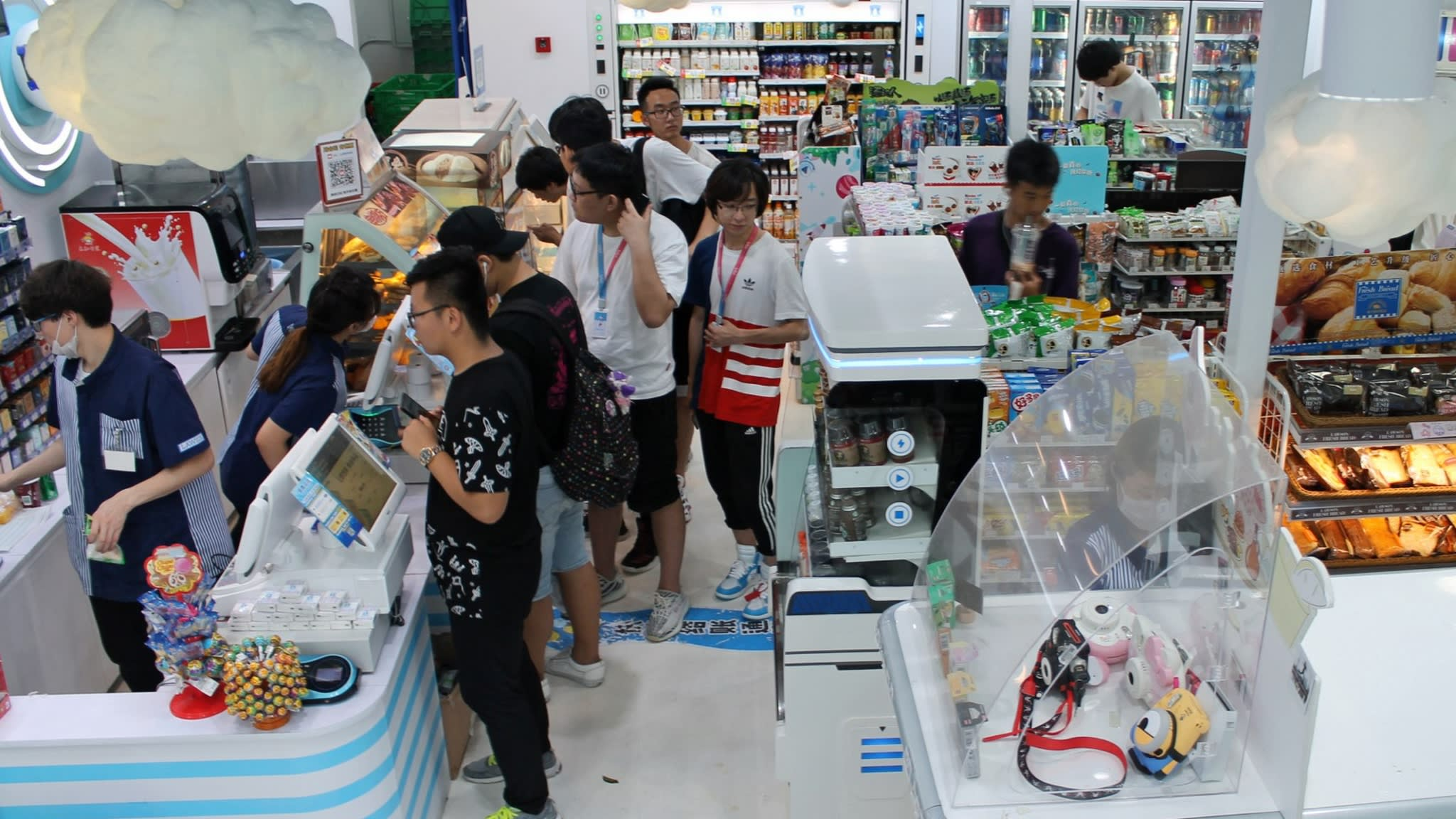 A Lawson store which collaborated with Bilibili