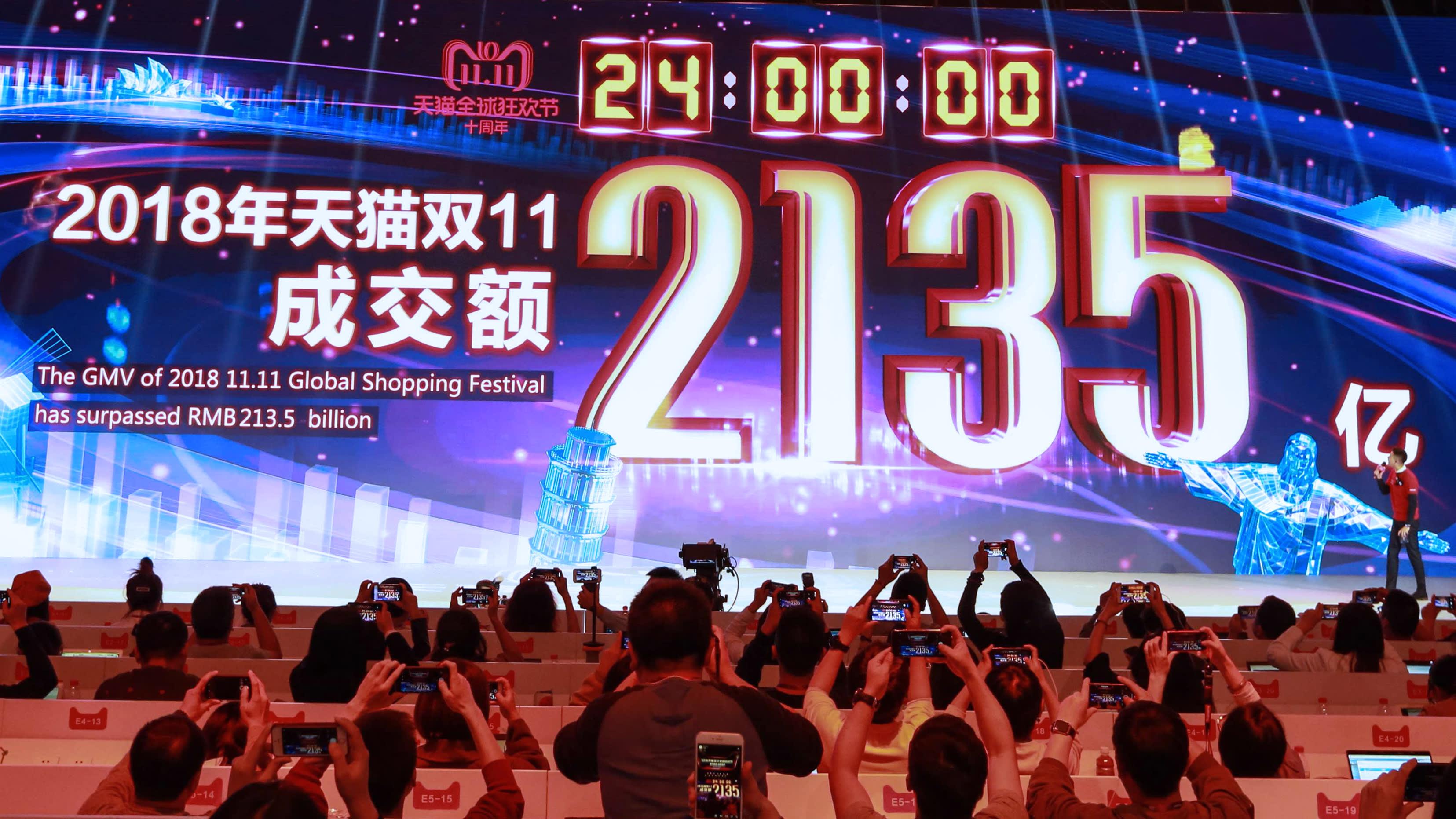 Alibaba Double Eleven Festival Tracker