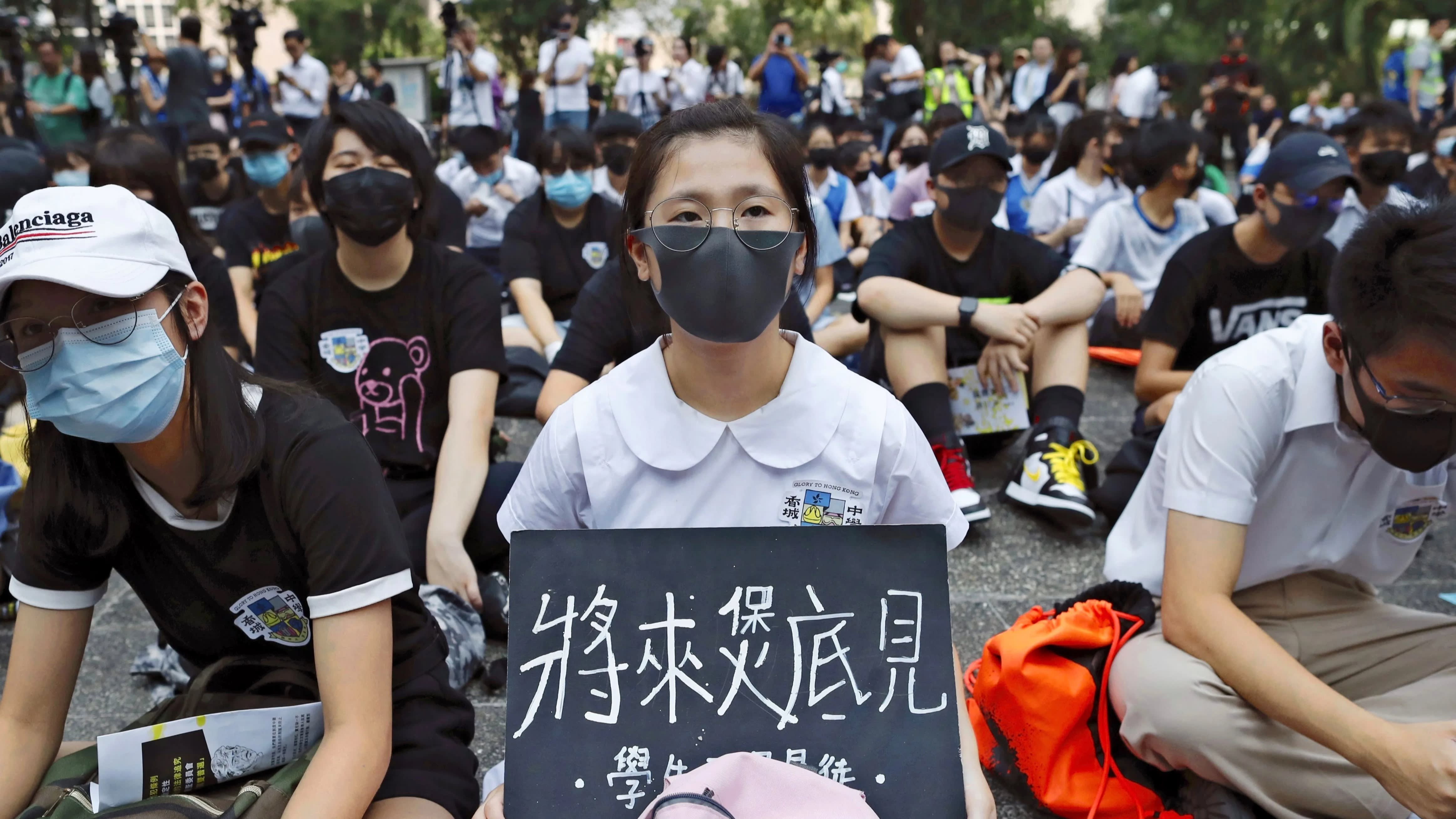 As National Day nears, protests in Hong Kong continue