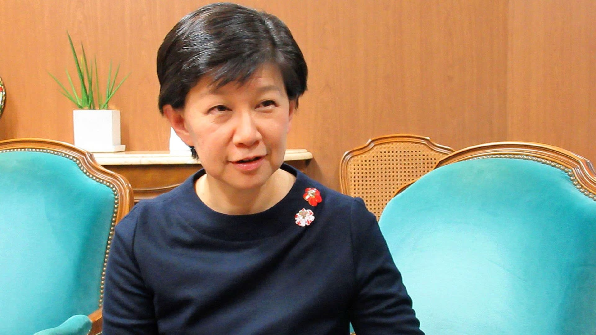 United Nations disarmament official Izumi Nakamitsu urged China to be more active in international discussions on nuclear nonproliferation.