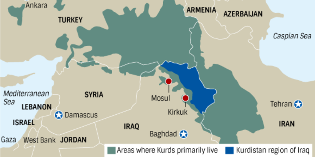 Middle East chaos: history of intermixing ethnic groups, religions ...