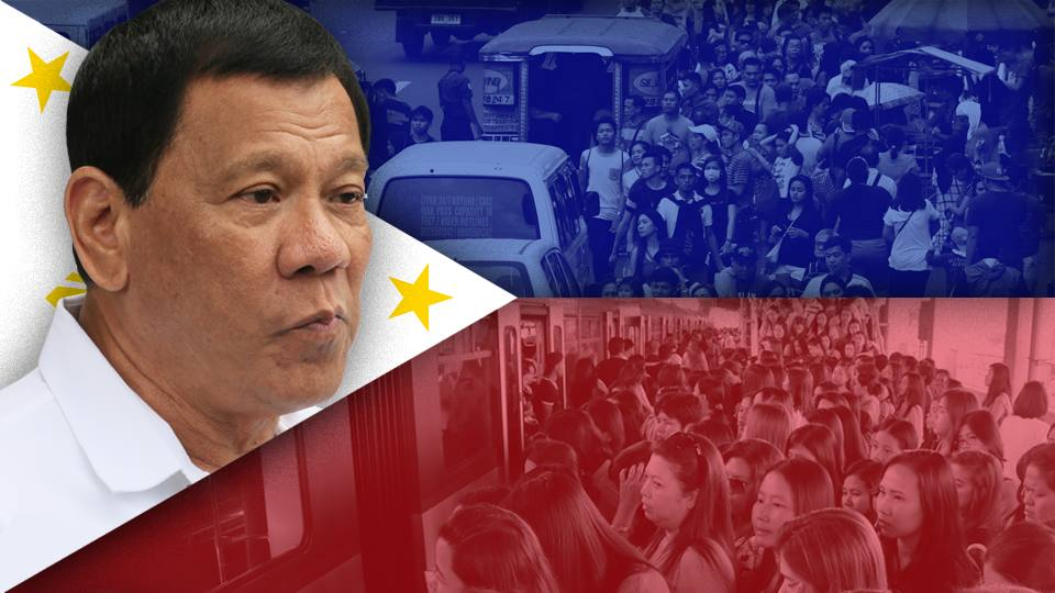 Duterte has three words on infrastructure: 'Build, Build, Build