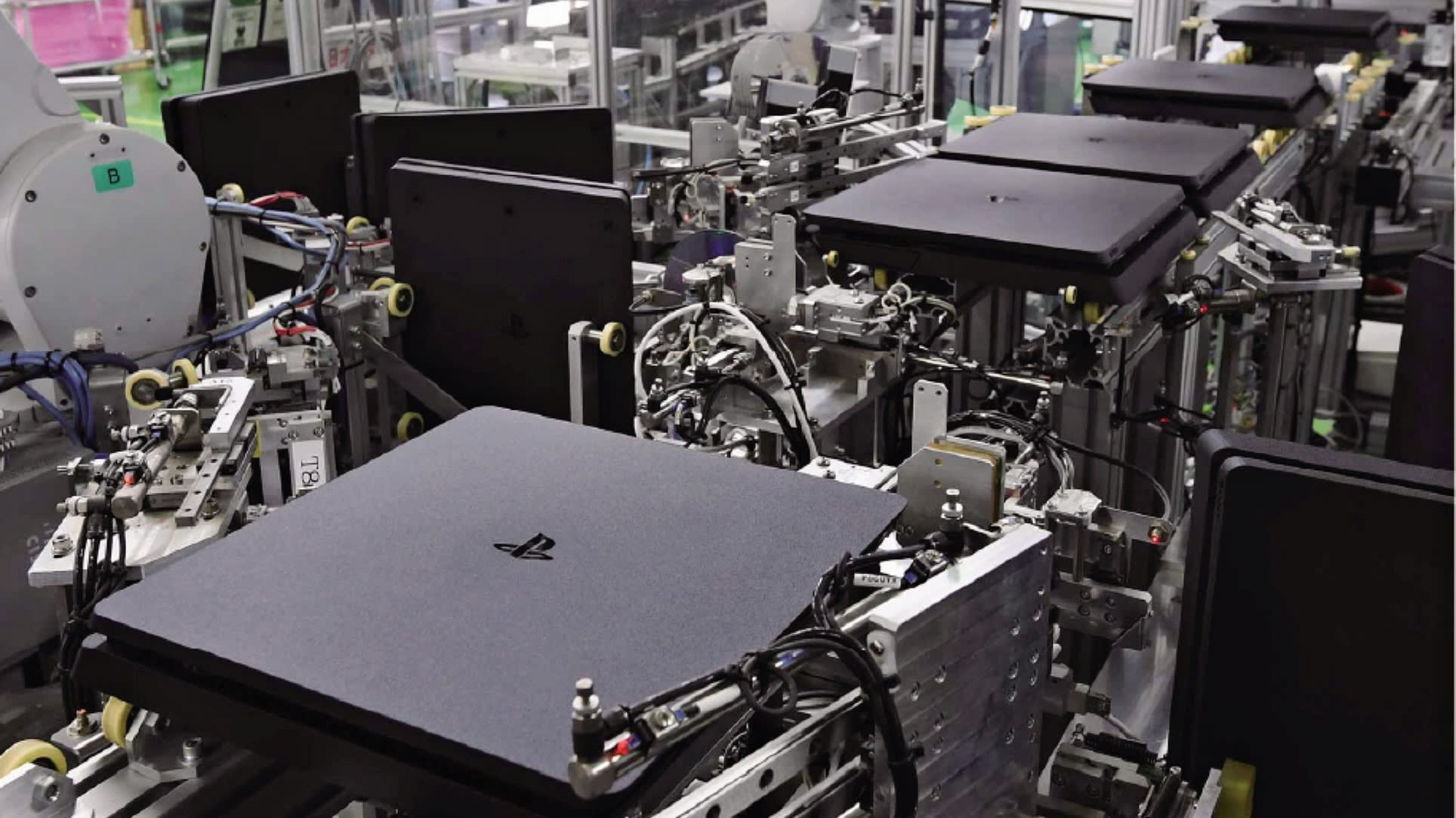 Playstation Production Plant