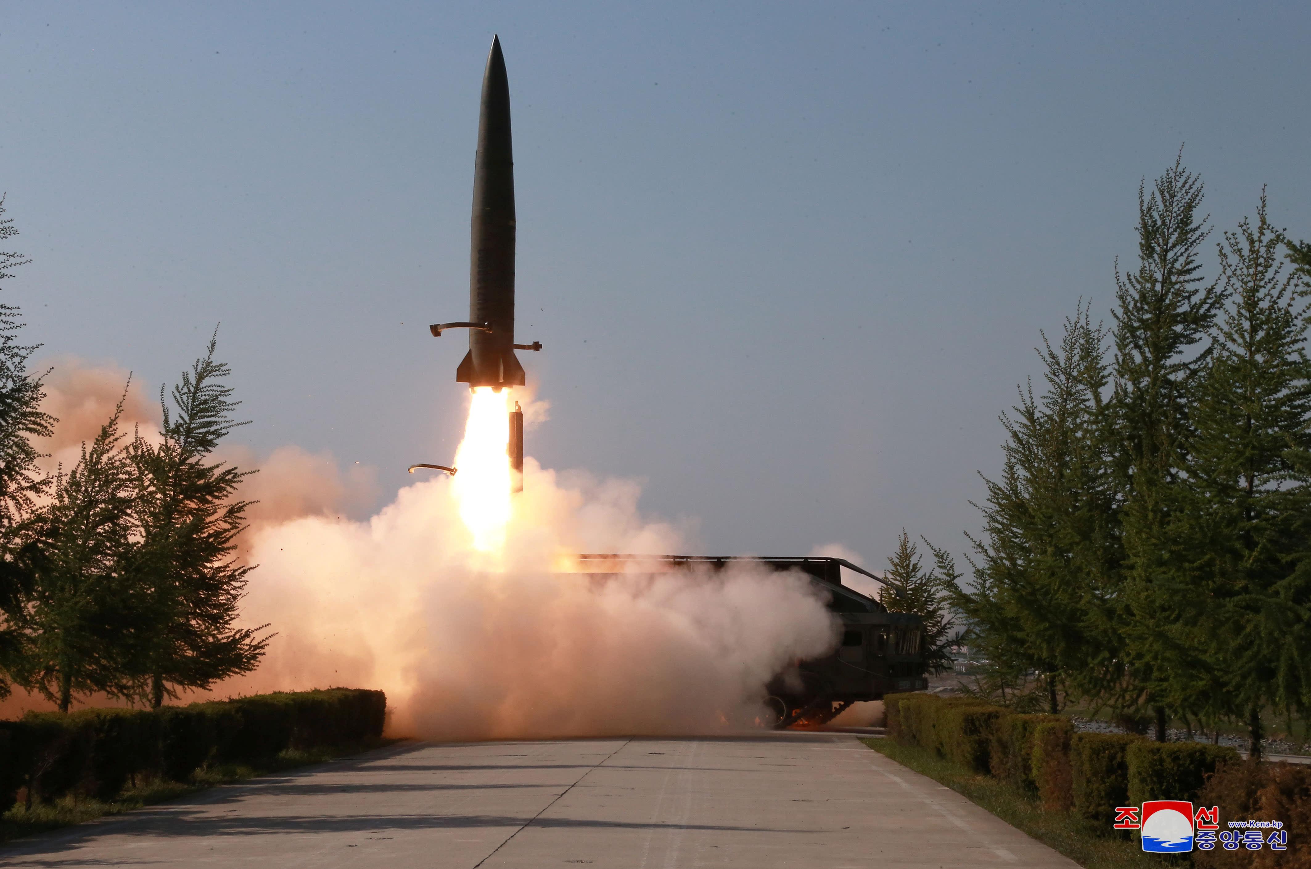 صاروخ بالستي كوري شمالي قصير المدى
